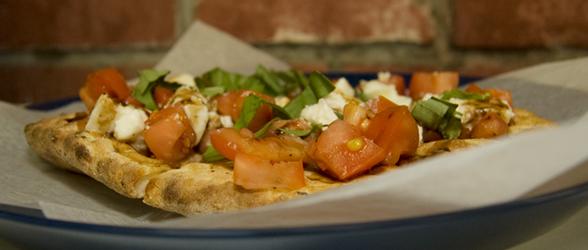 Tomato & Mozz Bruschetta