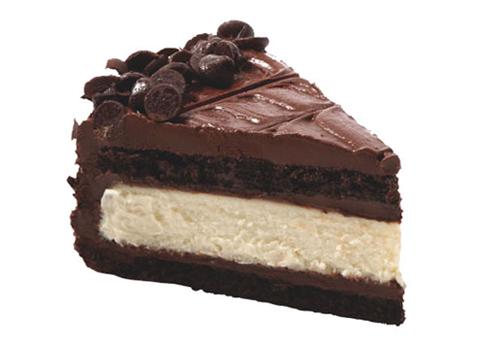 Juniors Chocolate Cake Cheesecake