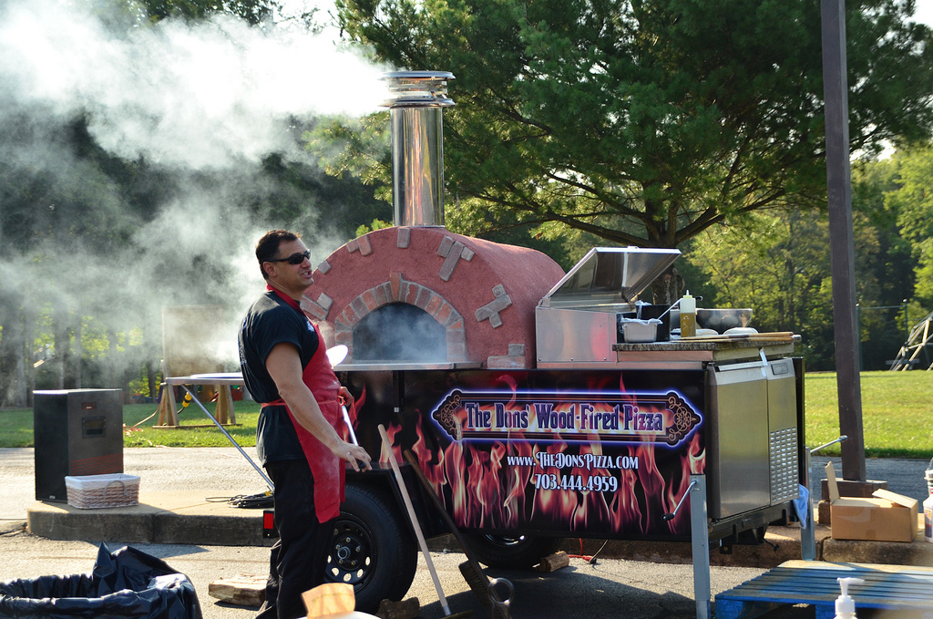 Mobile Brick Oven Pizza Catering