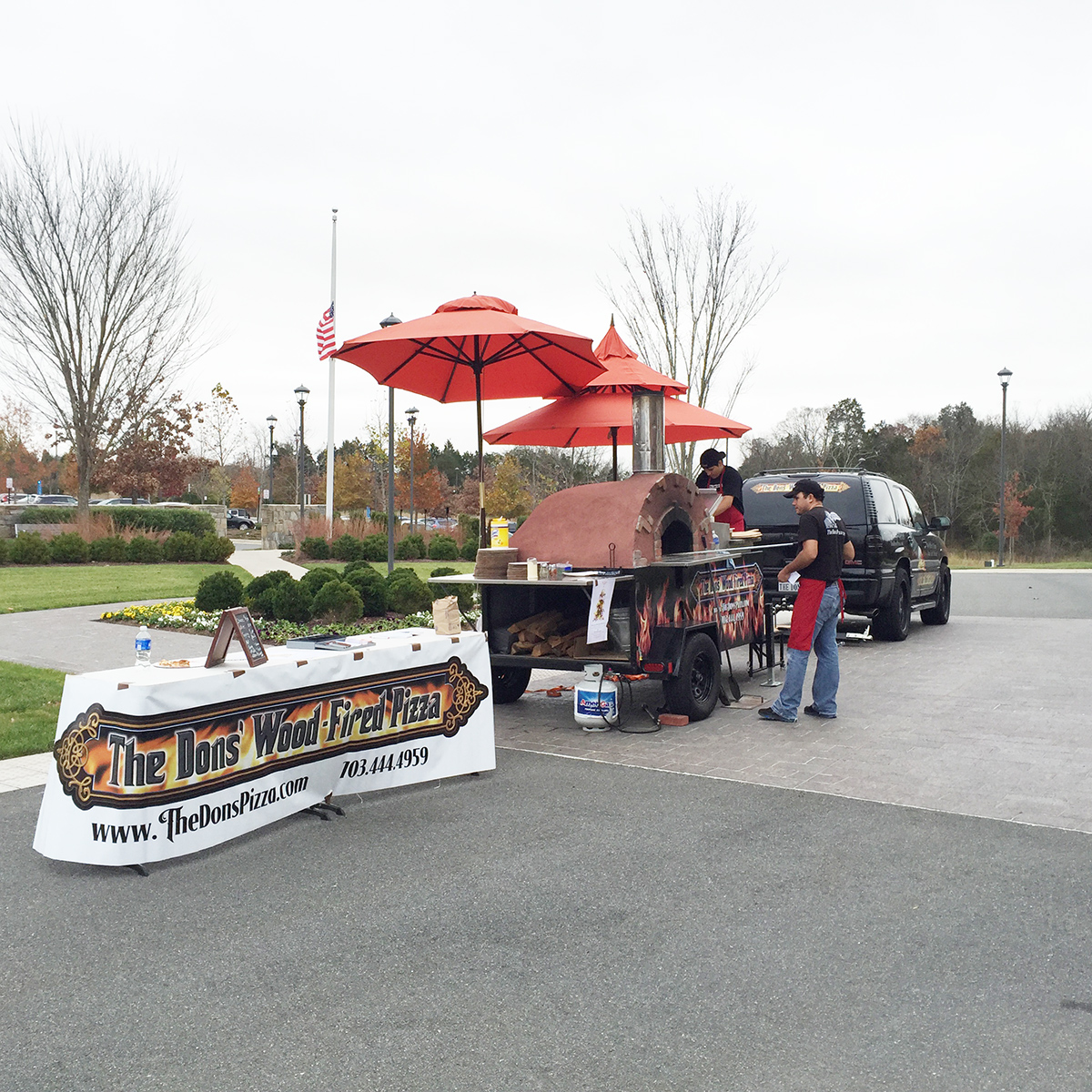 Mobile Brick Oven Catering