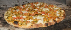 Paulie's Pesto Pizza